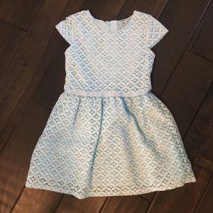 EUC Carter's Light Blue Dress 4t